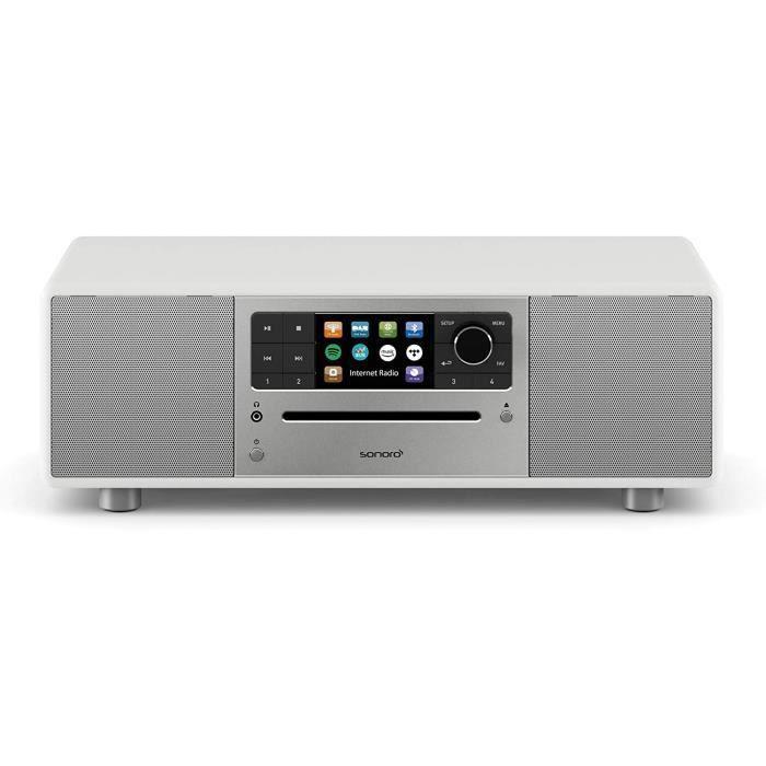 Chaînes Hi-Fi sonoro Prestige Chaîne Hi-FI (Radio FM-Dab+-Internet, Lecteur CD, AUX, Bluetooth, Deezer, Spotify, Amazon 7767
