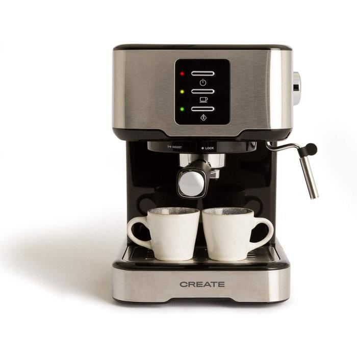 CREATE IKOHS THERA EASY - Cafetera express (gris)