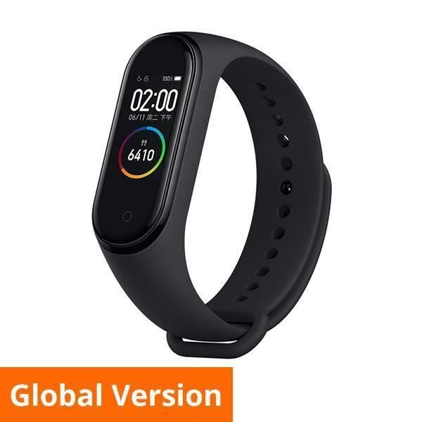 Xiaomi Mi Band 4 Bracelet d 'activité Bluetooth Suivi Sport Noir Fitness Traker Edition Internationale