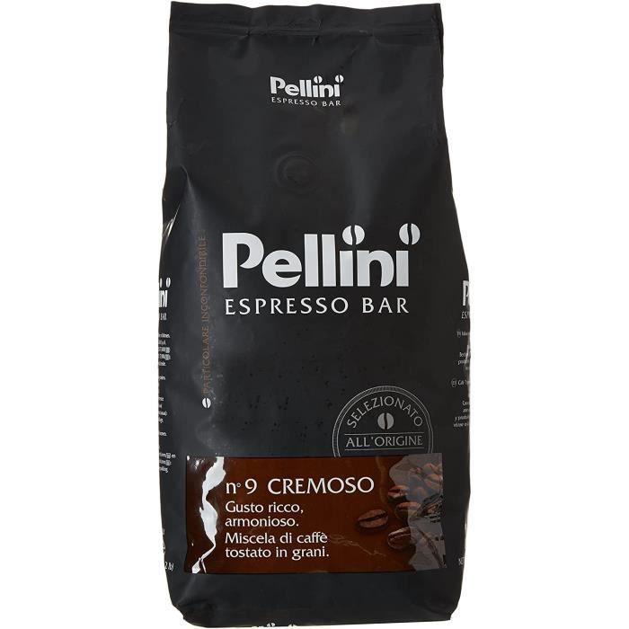 Caffè, Café en grains Pellini Espresso Bar N. 9 Cremoso, 1 Kg