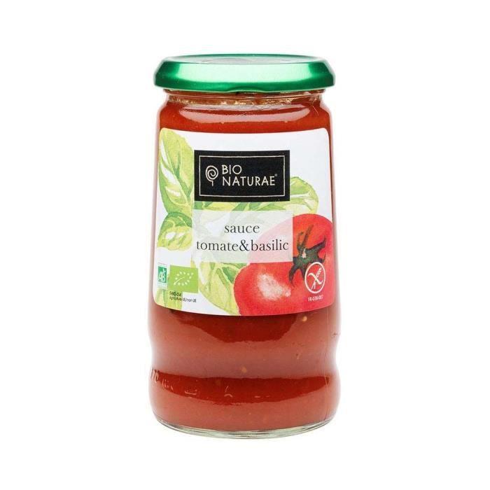 Tomates & basilic BIO 345gr