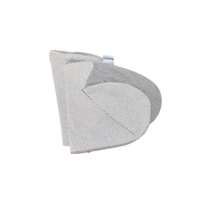 Babymoov Housse de coussin maternité doomoo Classic Grey - Certifié Oeko-tex