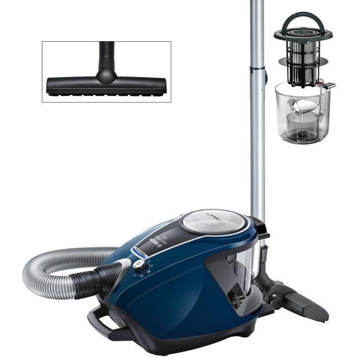 BOSCH Aspirateur sans sac GS70 Relaxx'x - Bleu
