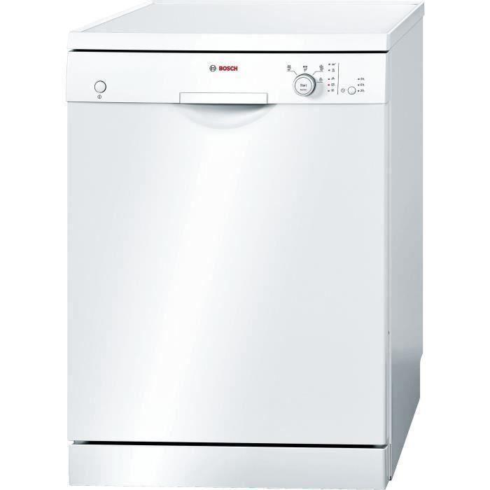 Lave-vaisselle pose libre BOSCH SMS24AW05E - 12 couverts - Largeur 60 cm - Classe A+ - 48dB - Blanc