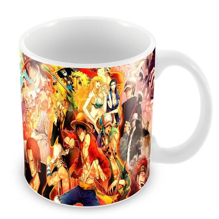 Mug one piece manga equipage pirate