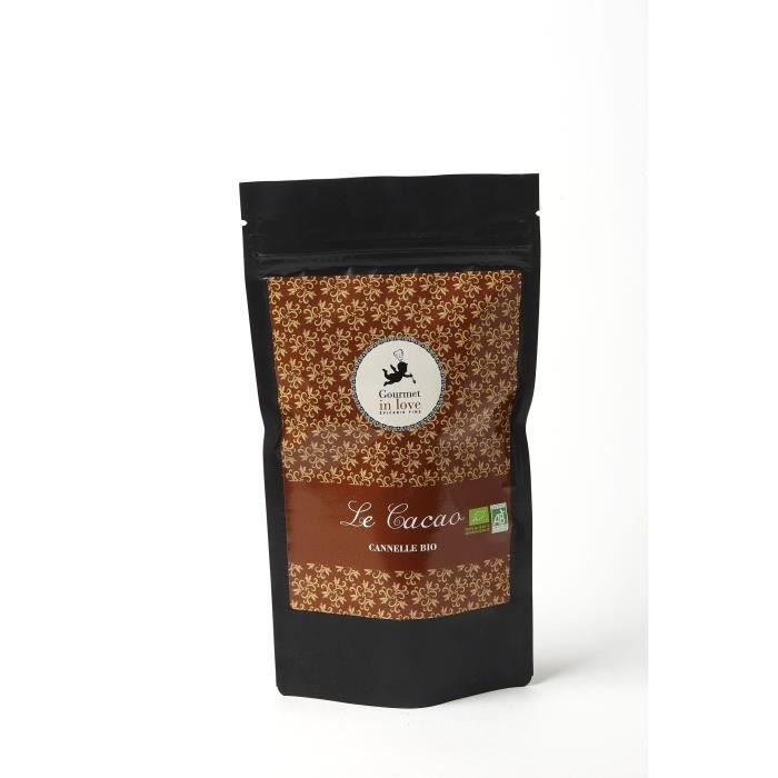 GOURMET IN LOVE Cacao Saveur Cannelle Zip Pack - 200 g