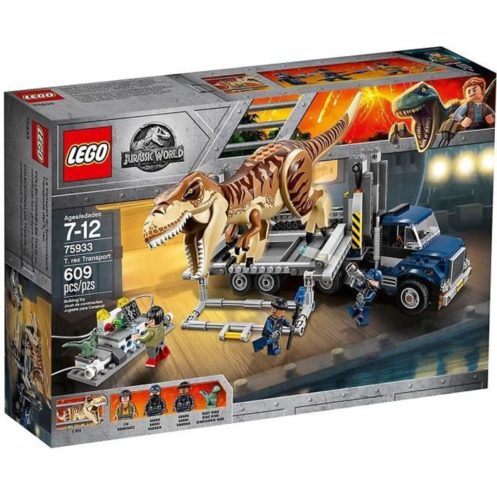 LEGO® Jurassic World™ 75933 Le transport du T. rex - Jeu de construction