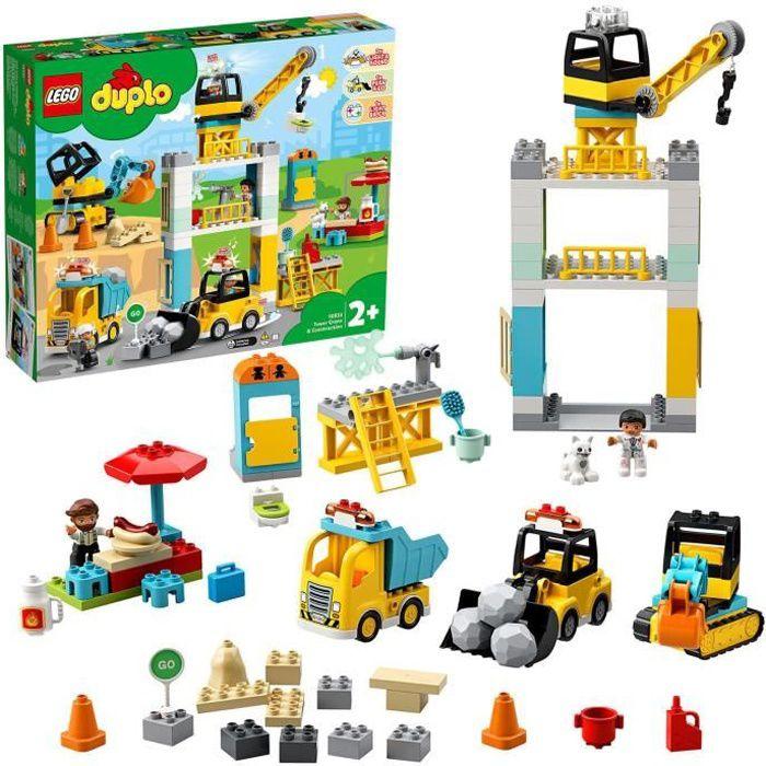LEGO® DUPLO® 10933 La grue et les engins de construction
