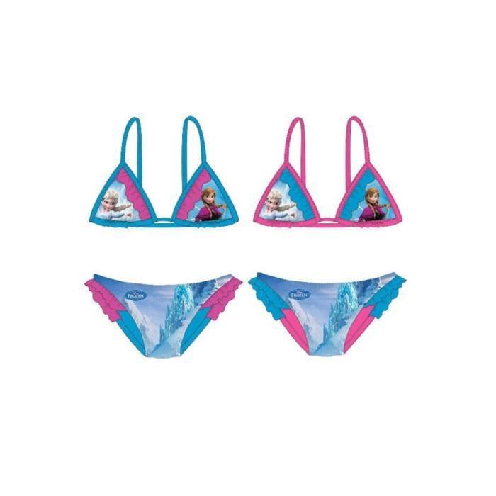 Maillot de bain - Bikini - La Reine des neiges 2 pièces DISNEY FROZEN