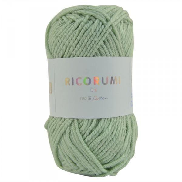 Coton RICORUMI pour Amigurumi, mini pelote 25g - 41 Menthe