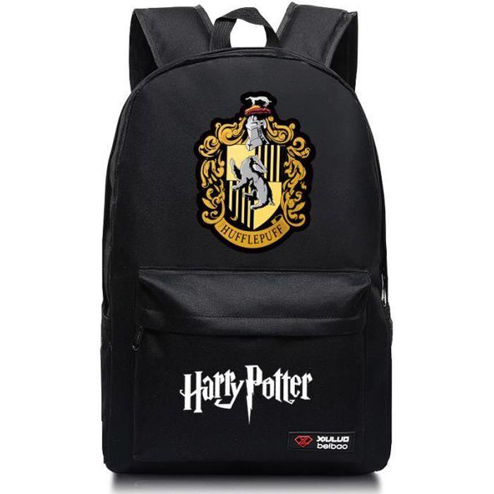 MOBIGARLAN Sac à Dos - Sac d'École cartable étudiant Harry Potter imprimé pour enfant adolescent modèle 02