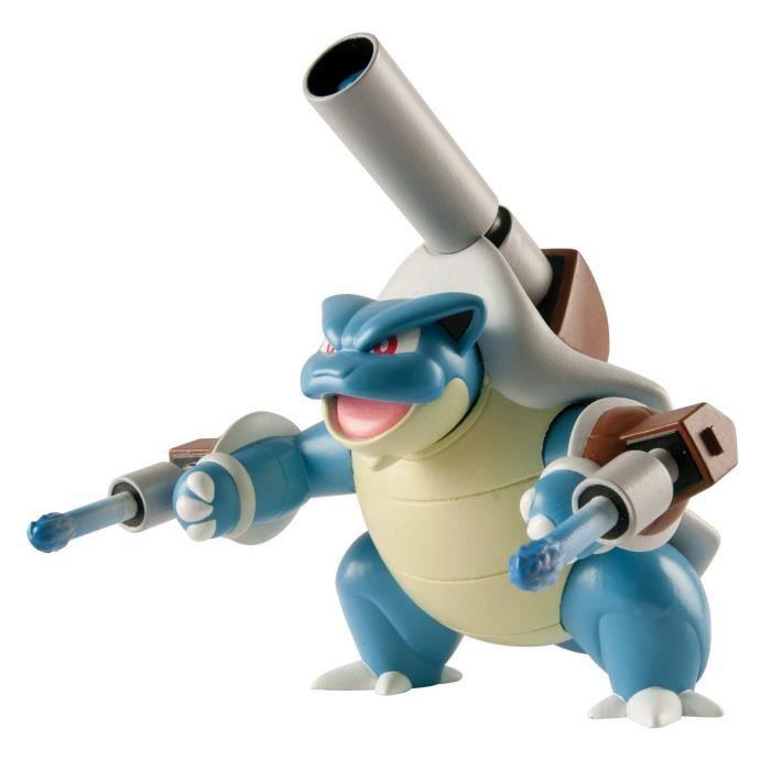 Super Figurine Action Attaque Pokemon : Méga-Tortank aille Unique Coloris Unique