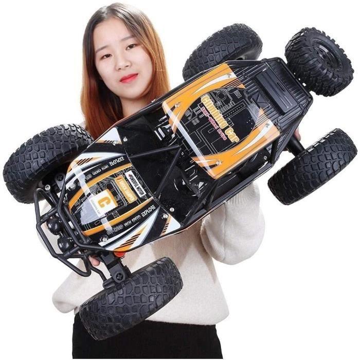 Antidérapante 4 roues motrices Télécommande voiture échelle 1:10 Off-Road Rock Crawler électrique Camion 2.4Ghz téléguidés Buggy