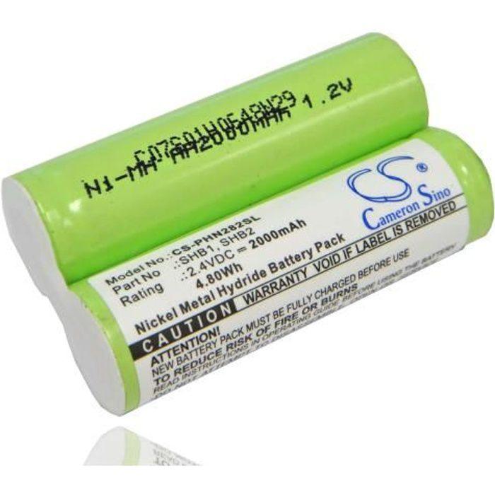 Batterie de remplacement pour Rasoir Braun 4510, 4520, 4525, 4550, 550, 5503, 5504, 5505, 5506, 5509, 5510, 5515, 5520, 5525 - Re…
