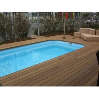 piscine coque maxipool x x achat vente piscine piscine coque maxipool. Black Bedroom Furniture Sets. Home Design Ideas
