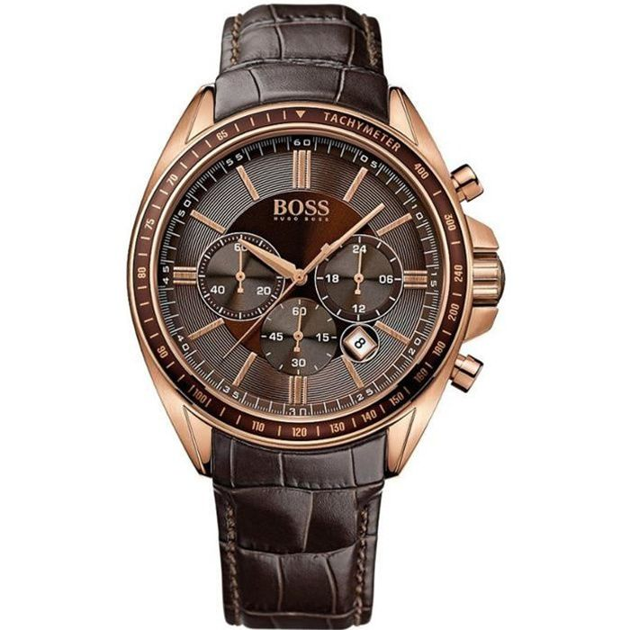 MONTRE Hugo Boss 1513093 Hommes Chronograph Bracelet cuir