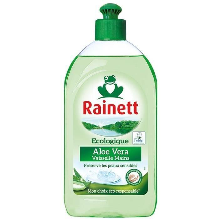 LIQUIDE VAISSELLE RAINETT Liquide vaisselle main Écologique - Aloe v