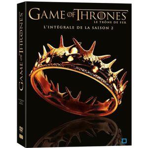 DVD SÉRIE DVD Game Of Thrones Saison 2 (Le Trône de Fer)