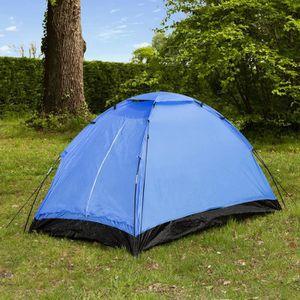 TENTE DE CAMPING Tente de camping Dôme - 2 places - Bleu