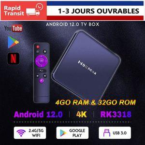 BOX MULTIMEDIA DQiDianZ Android 9.0 H96MAX 4GB+32GB WIFI Quad Cor