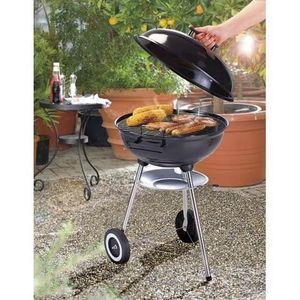 BARBECUE Barbecue à charbon multi-cuisson avec couvercle