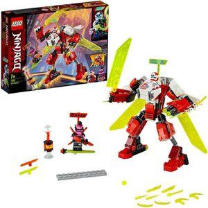 ASSEMBLAGE CONSTRUCTION LEGO® NINJAGO® 71707 L'avion-robot de Kai