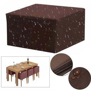 HOUSSE MEUBLE JARDIN  Housse étanche de canapé de table et de chaise Jar