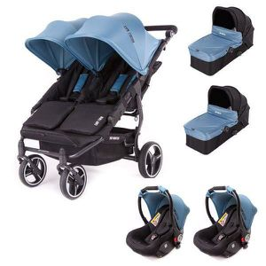 POUSSETTE  Poussette double Baby Monsters Easy Twin 3S Light