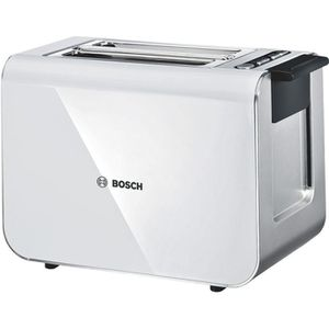 GRILLE-PAIN - TOASTER BOSCH TAT8611 Grille-pain Styline - Blanc