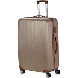 VALISE - BAGAGE MANOUKIAN Valise Chariot ABS  4 Roues 72 cm Champa