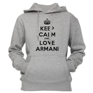 online store 819f6 46312 sweat-a-capuche-keep-calm-and-love-armani-unisex.jpg