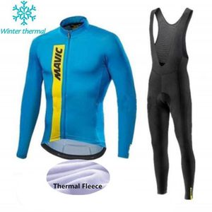 TENUE DE CYCLISME MAVIC Maillot de vélo d'hiver en polaire thermique
