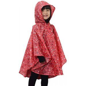 Trench manteau style Enfants Imperméable Garçon Fille Pluie Poncho Imperméable rainware