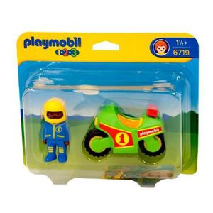 ASSEMBLAGE CONSTRUCTION Playmobil - 6719 - Jeu de construction - Pilote -