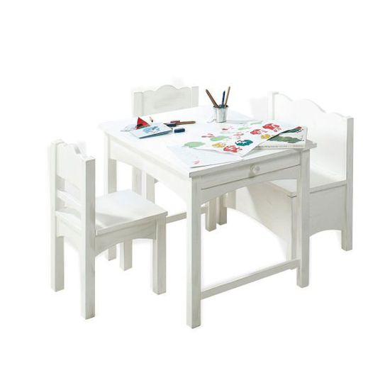 TABLE ET CHAISE Table Enfant 2 Chaises 1 Banc Best Of
