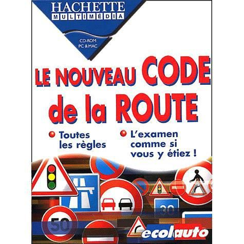 code de la route nouvelle version cd rom achat vente livre collectif emme interactive. Black Bedroom Furniture Sets. Home Design Ideas