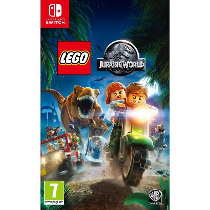 LEGO JURASSIC WORLD Jeu Switch