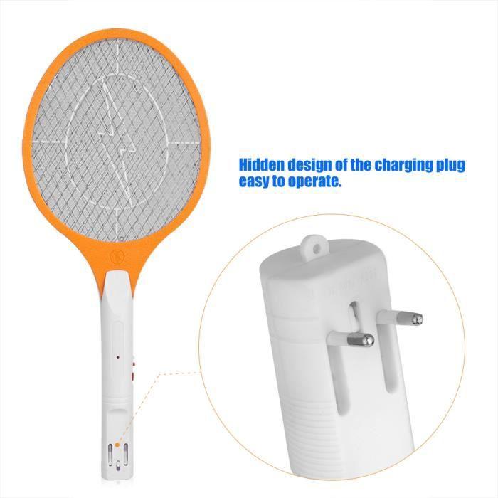 Insecte anti-insectes tueur de raquette Zapper électrique rechargeable électrique sans fil