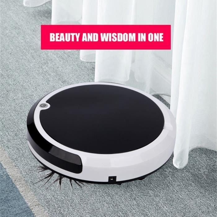 Nettoyeur rechargeable Robot Aspirateur Intelligent Floor Cleaner Machine de balayage ROBOT VACUUM CLEANER 4