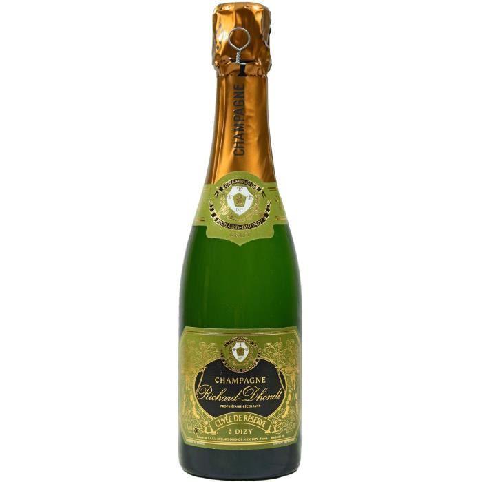 Demi-Bouteille, Champagne Richard-Dhondt, Cuvée de Réserve, Brut