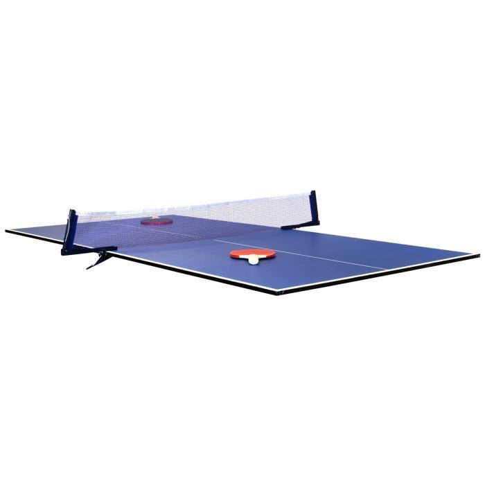 Charles Bentley - Plateau pliable pour table de de ping-pong - peut se poser sur une table - intérieur - 1,8 m