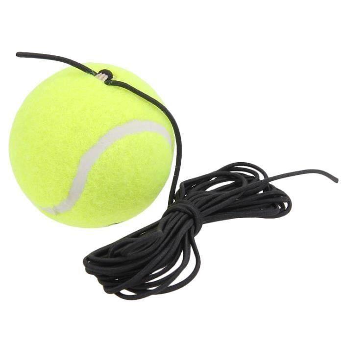 Un Seul Paquet Tennis Trainer Tennis Tool avec Accessoires de Tennis de Formation de Feutre en Caoutchouc de Remplacement