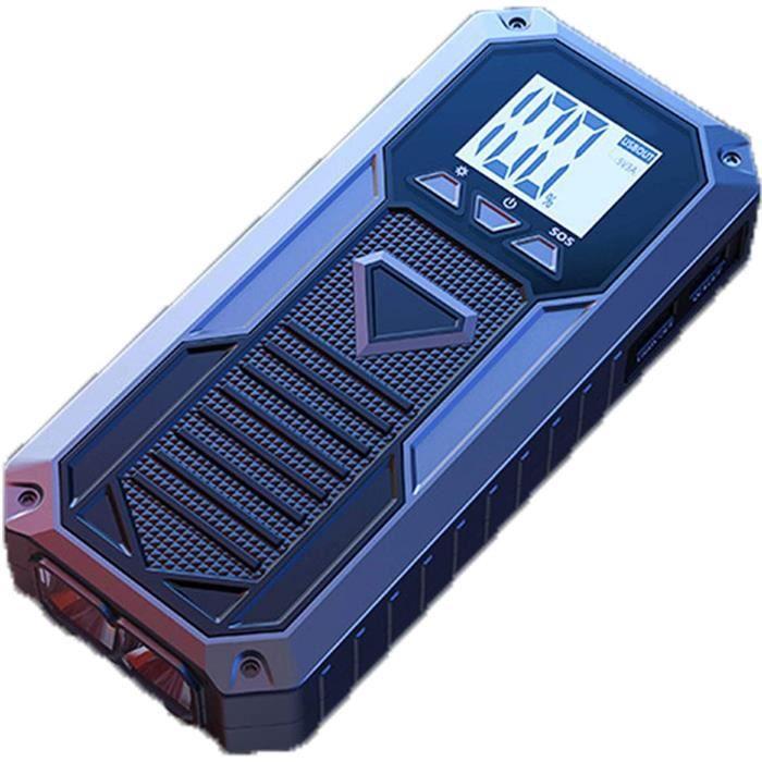 CHARGEUR DE BATTERIE Booster Batterie 8000mAh 12V DeacuteMarre 50L gaz 28L VeacuteHicules Diesel Alimentation USB pour Recharger161