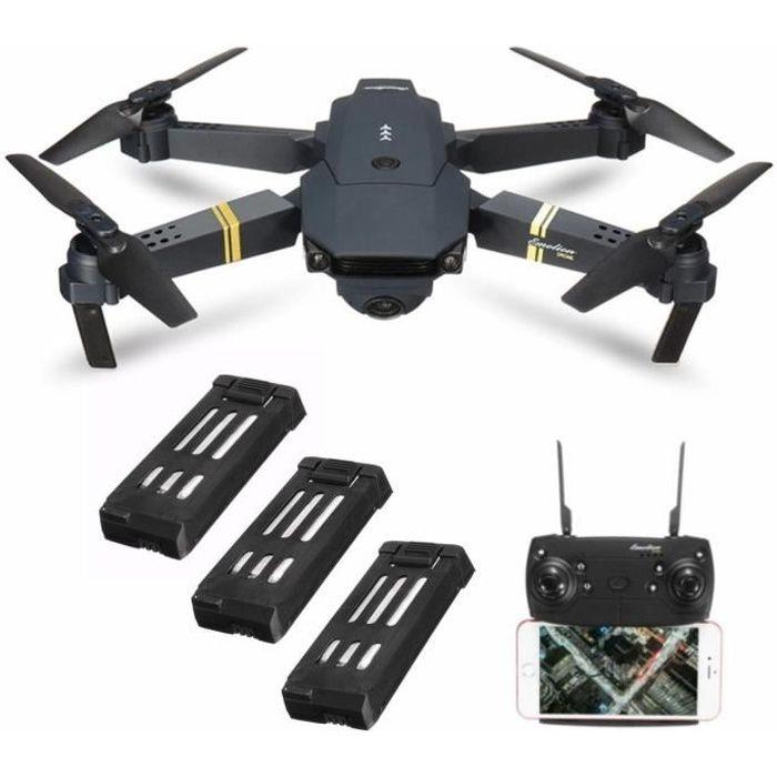Eachine E58 WIFI FPV RC Drone +3 Batterie 2MP 720P Caméra SET Quadcopter RTF Jouet Cadeau Anniversaire