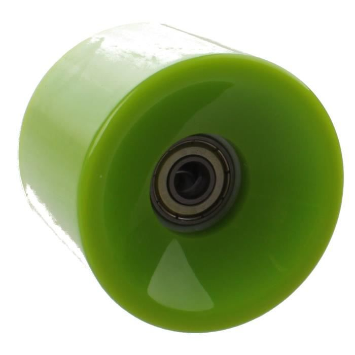 Johntoy Roues Longboard District Urbain 65 x 51 mm 82A vert