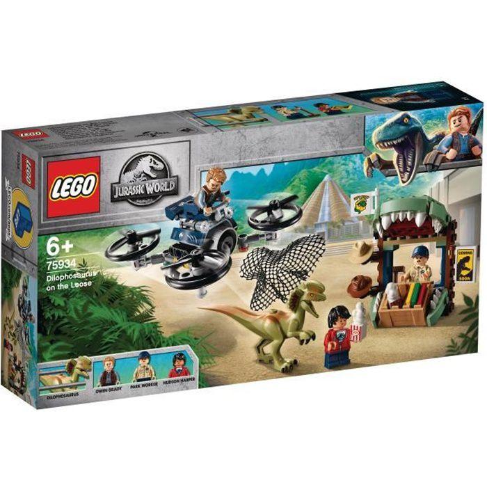 LEGO® Jurassic World™ 75934 Dilophosaure en liberté - Jeu de construction