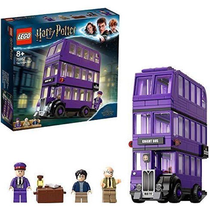 LEGO -Harry Potter - Le Magicobus Jeu d'Assemblage 8 Ans et Plus, Jouet pour Fille et Garçon, 403 Pièces 75957