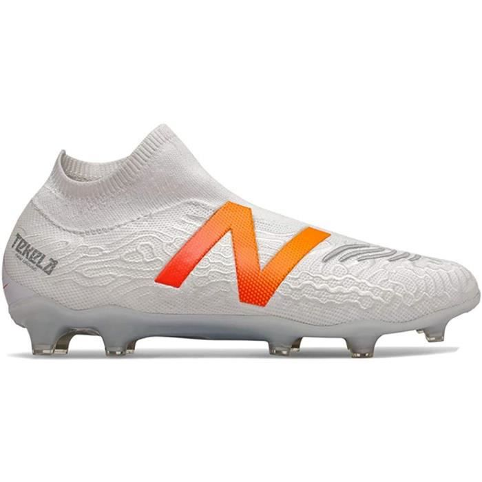 New Balance Chaussures de Football Tekela v3 Pro Fg Blanc 45