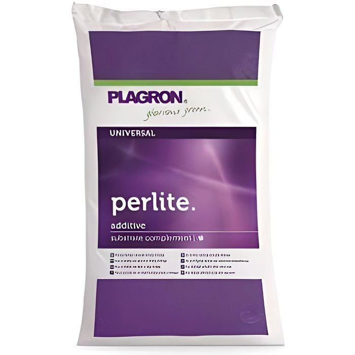 Sac de Perlite Plagron substrat de culture a base de roche volcanique 60 litres