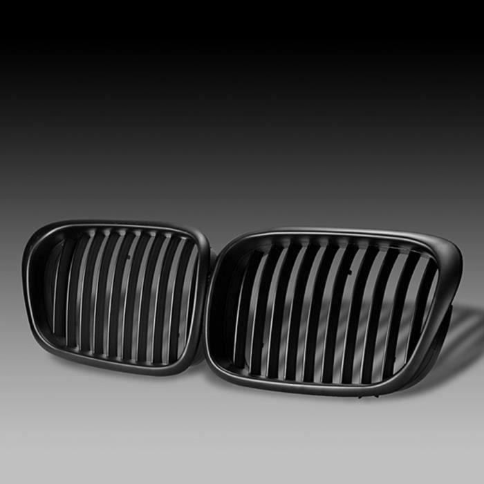 Kit Grille Calandre Brillant Noir Pour BMW E39 5 Serie 525 530 540 M5 528 97-03